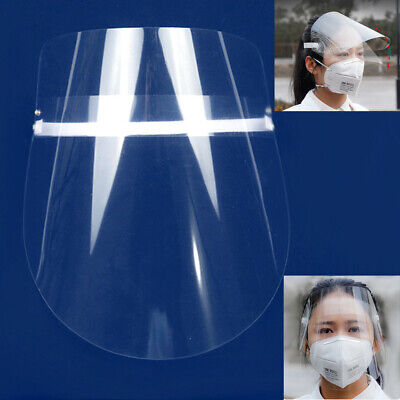 Reusable Safe Anti-fog Full Face Shield With Clear Face Work Industry Dental