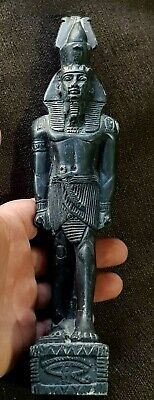 Stunning Rare Intact Undated Egyptian Large Shabti/Hieroglyphics.577 Gr.250 Mm