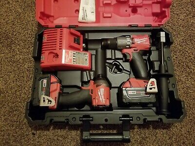 Milwaukee M18 FUEL Hammer Drill and Impact Driver Kit  2997-22