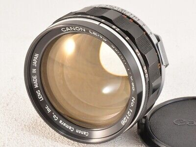 Canon 50mm f0.95 Camera Lens Serviced Tested Working Used Ex++ Rare