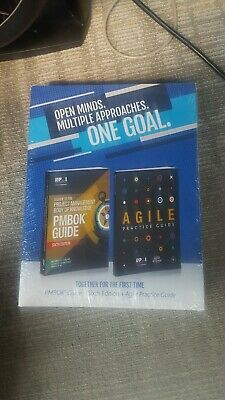 PMBOK Guide 6th Edition English New Sealed +Agile practice + Q&A book = 3 books