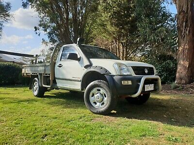 2006 Holden Rodeo Diesel 4x4 Cab Chassis Ute