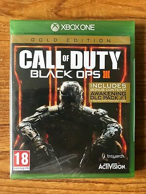 Call of Duty Black Ops 3 III - Gold Edition (Xbox One) Brand New Sealed
