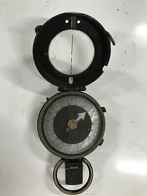 WW1 British Army Officers Verners Pattern Marching Compass 1917