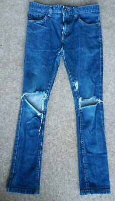 Boys Next Skinny Rip Jeans Age 10 Years