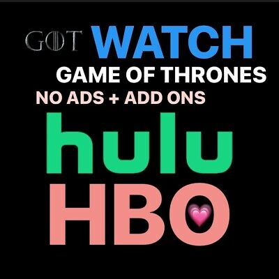 Hulu Premium + HBO + No Ads + | 1 Year | FAST DELIVERY✨