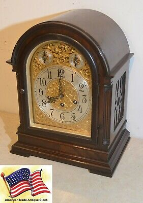 Fully Restored Seth Thomas Grand Antique Westminster Chime Clock No. 73-1921