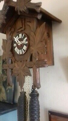 Cuckoo Clock Works But Needs Setting Up