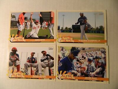 2020 Topps Opening Day Spring Has Sprung Insert Cards  U Pick Finish Set