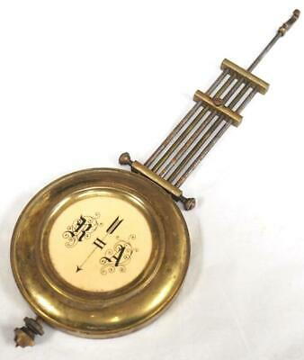 Brass & Metal Bob Pendulum For German & English Wall Clocks Clock Pendulum