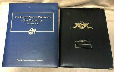 The Us Presidents Coin Collection Volume Ii Set Postal Commemorative _Plus+++++