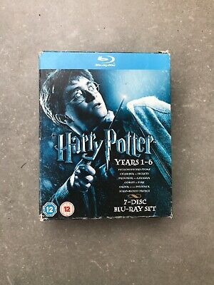 Harry Potter: Years 1-6 (Blu Ray, DVD - 2009, 6-Disc Set, WS)