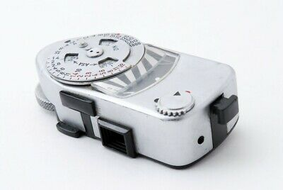 """""""For Parts"""" Leica MR Chrome Light Meter from Japan"""