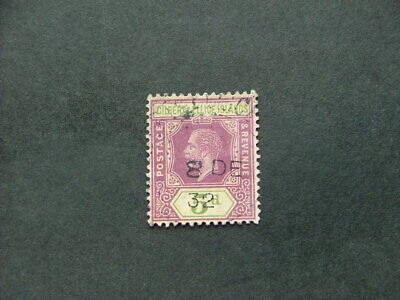 Gilbert & Ellice Islands KGV 1912 5d dull purple & sage-green SG18 G-FU