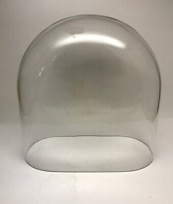 Vintage Kundo Kieninger & Obergfell 400 Day Anniversary Clock Oval Glass Dome