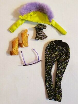Monster High MAUL SESSION Clawdeen Fashion Pack Clothing 2012 Discontinued EUC