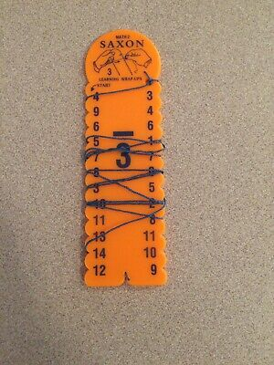 Replacement x6 For Saxon Math 3 Learning Wrap-Ups Multiplication Practice