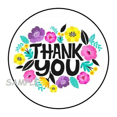 Scrapbooking Papierkunst Shopping Lady 23 Large Round Thank You Stickers Luxclusif Com