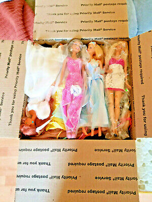 Large Barbie Doll Lot 20 Dolls - All Dressed - Evening Gowns  - Take a Look