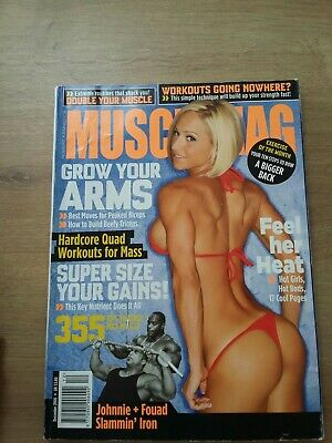 Musclemag International December 2008 prreowned