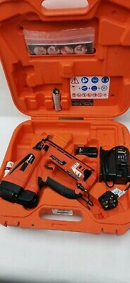 Paslode IM65A F16 Gas Nail Gun Second Fix 63mm 7.4V 2.1Ah Li-Ion.FREE POSTAGE