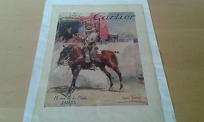 Used - ad Advert Cartier - Magazine Cosmópolis - for Collectors