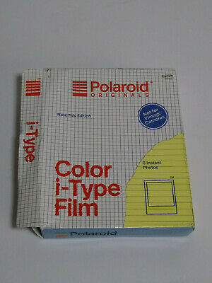 Polaroid Originals NOTE THIS Edition i-Type Color Instant Film for OneStep2 + US