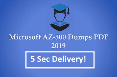 AZ-500 real Exam dumps Questions answers and simulator 5 Sec Delivery 📩