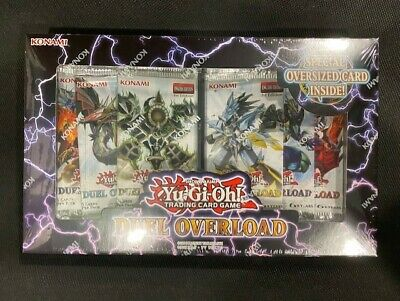 Yu-Gi-Oh! TCG Duel Overload Factory Sealed Box In Hand