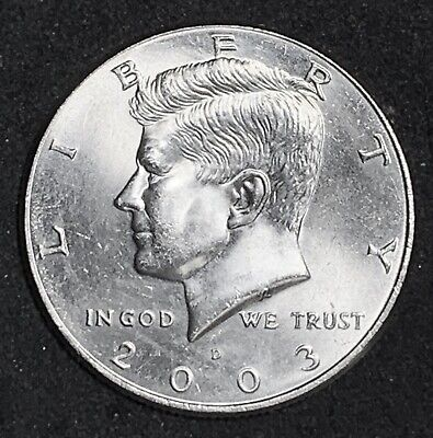 2003 D Kennedy Half Dollar Bu Uncirculated Coin   (737)