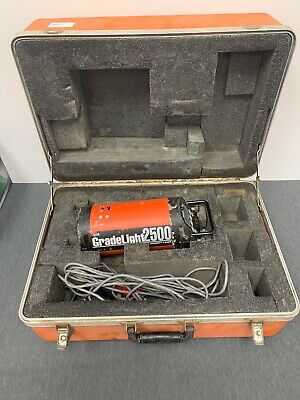 AGL Gradelight 2500 Pipe Utility Laser (Incl. Cables,  Case)