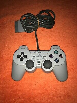 Official Sony PlayStation 1 PSOne PS1 Grey DualShock Controller