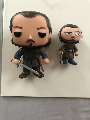 Funko Game Of Thrones Bronn Lot Pop and Mystery Minis Series 3 Figures