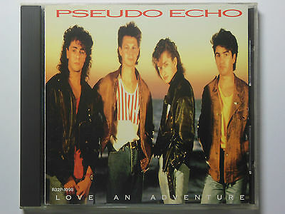 PSEUDO ECHO - Love An Adventure CD JAPAN R32P-1098/ First press / 1987
