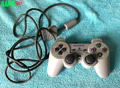 Sony Ps1 Analog Controller Genuine Official Grey Scph-1200 Playstation 1 Psx