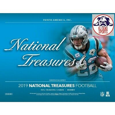 "Ed ""Too Tall"" Jones 2019 National Treasures Football Case 4Box Break"