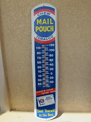 Chew Mail Pouch TobaccoThermometer