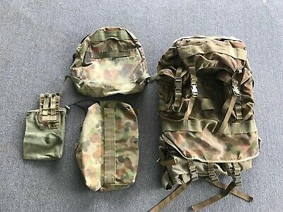 Army DPCU Back Pack + add on - Small Pack - Wet Bag - authentic - Army Surplus