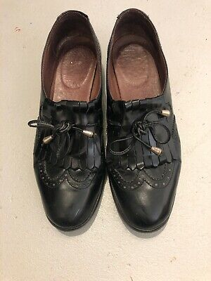 Naif Italian Leather Shoes Size 37.5