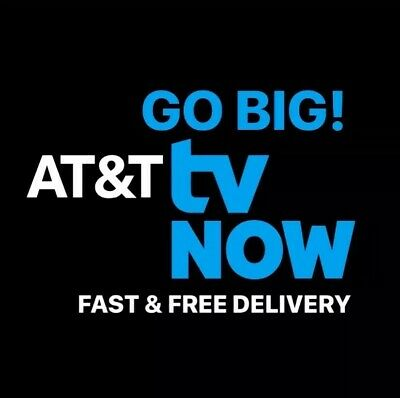 AT&T TV NOW | GO BIG Subscription Account | 1 Year Warranty | FAST Delivery✨