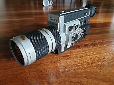 Canon Auto Zoom 1014 Electronic Super 8 Film Camera