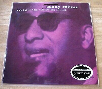 Classic Records Blue Note 1581 Sonny Rollins A Night At The Village Vanguard NEW