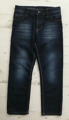Boys age 8 years dark denim/jeans trousers by MATALAN hardly worn!