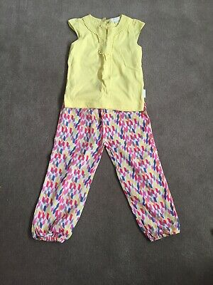 Purebaby Size 2-3 Girls Outfit