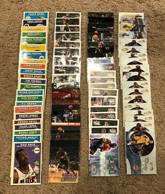 Big Lot Of 2000-01 Fleer Basketball Cards Subsets And Special Inserts $$$