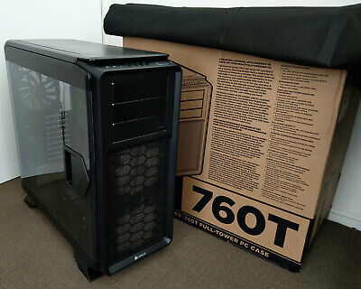 Corsair Graphite Series 760T Full Tower ATX LED Black Gaming PC Computer Case