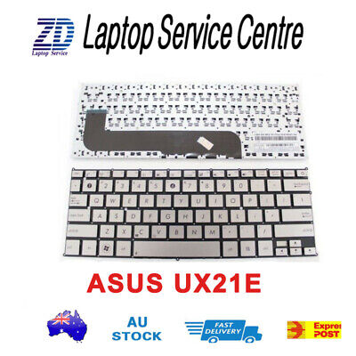 New Keyboard For ASUS Zenbook UX21E NO Frame SILVER,