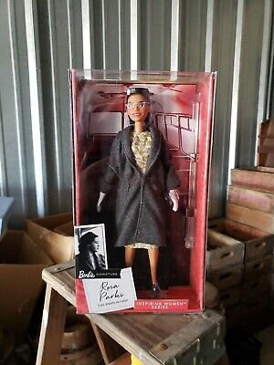 Rosa Parks Barbie Doll Inspiring Women Collection 2019 NRFB Mint!