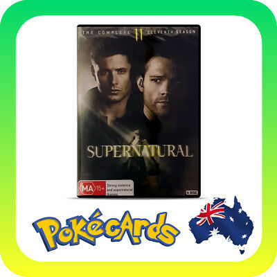 Supernatural : Season 11 (DVD, 2016, 6-Disc Set)