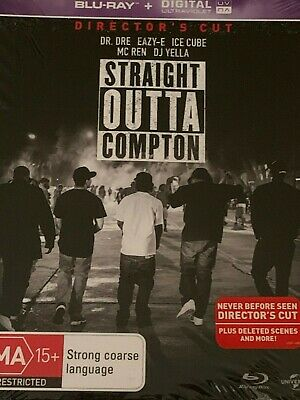 Straight Outta Compton Directors Cut Blu Ray and Digital Brand New